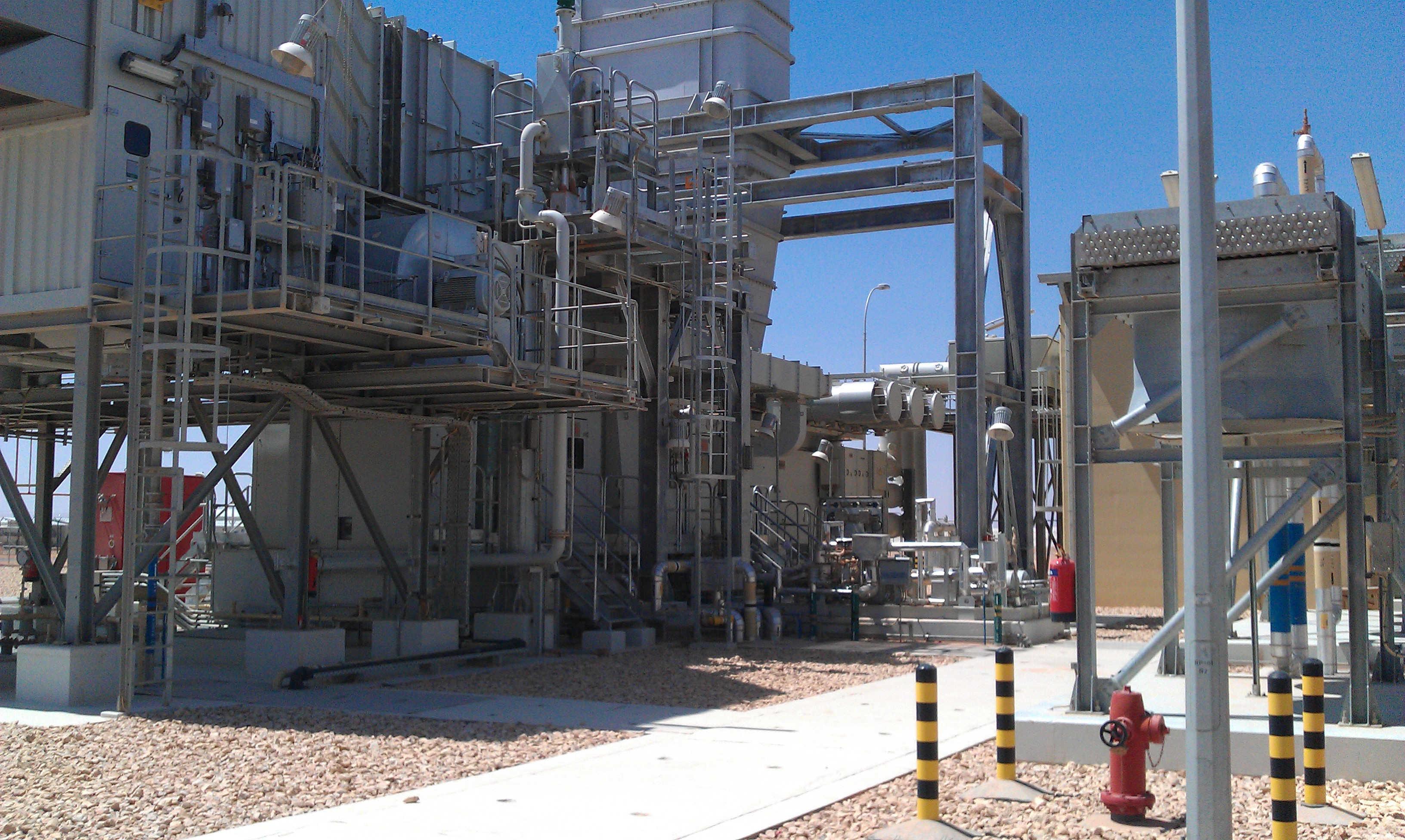 Turbine performance test Gas turbine performance test SINT